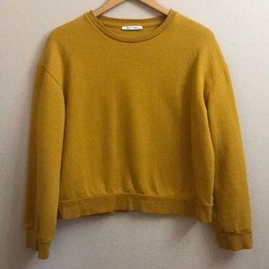 Mustard Zara Sweatshirt